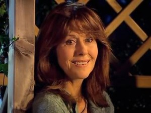 "Sladen as ""Sarah Jane Smith."""