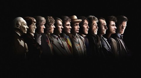 Thirteen Doctors. All awesome. All loved. But still ALL white men.