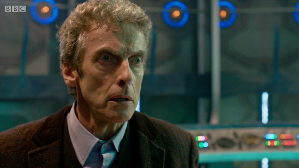 We have to wait until late 2014 to see more of Capaldi's Doctor.