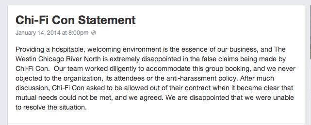 Westin-statement
