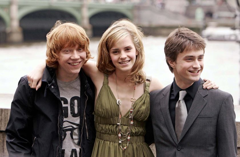 hermione and ron dating