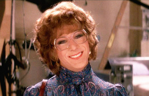 Dustin Hoffman in Tootsie.