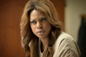 Laverne Cox has gotten strong reviews as Sophia Burset in Orange Is the New Black and is an outspoken activist for transgender issues.
