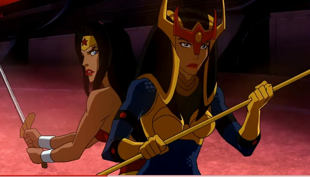 If two kickass warriors like Wonder Woman and Big Barda can get along, so can Batman and Superman.